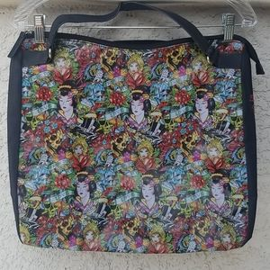 ED HARDY TRUE MY LOVE GEISHA BAG